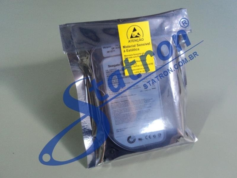 Embalagem Antiestática para Hd Preço Lapa - Embalagem Antiestática para Hd