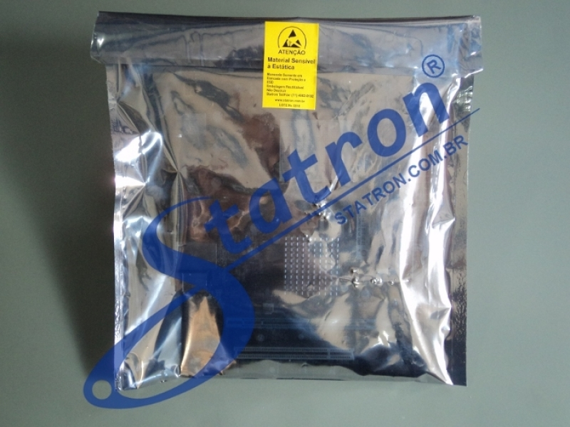 Embalagem Antiestática para Placa Valor Água Funda - Embalagem Antiestática para Hd