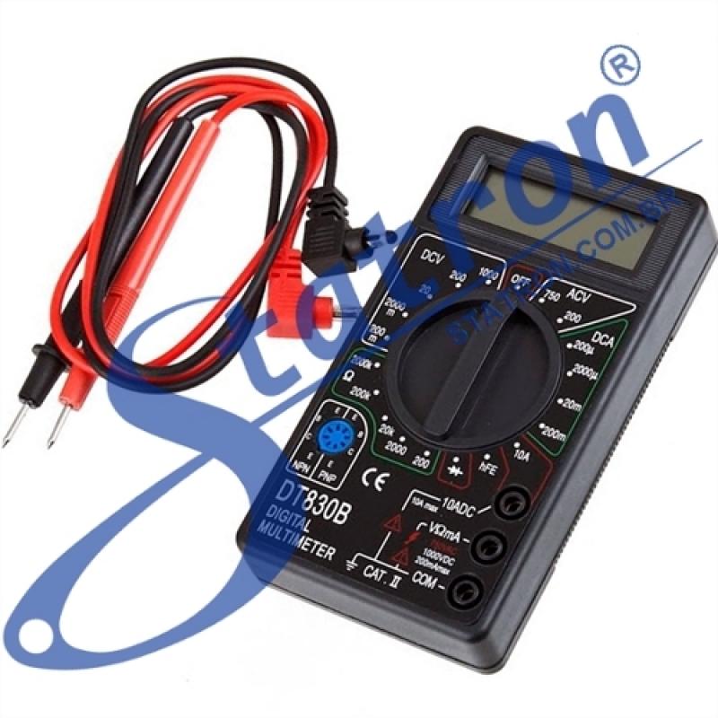 Multímetro para Eletrônica Valor Cotia - Multímetro Automotivo