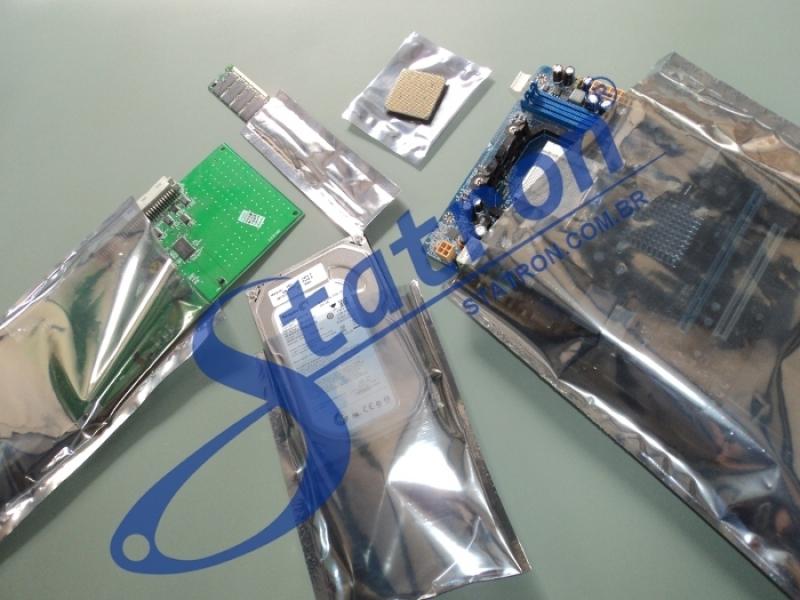 Onde Encontrar Embalagem Antiestática Santo André - Embalagem Antiestática para Hd