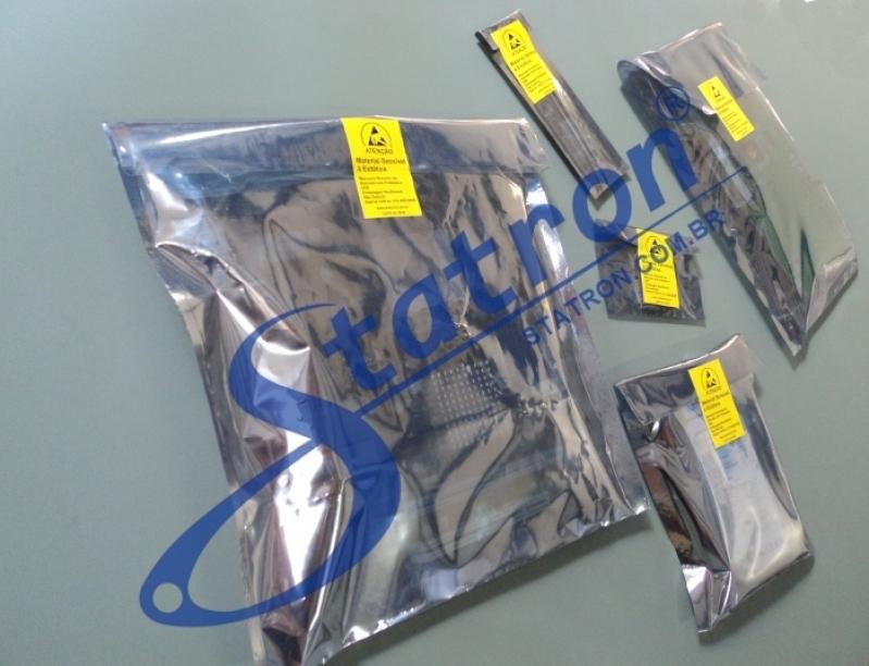 Saco Blindado Antiestático Esd Preço Osasco - Embalagem Antiestática para Hd