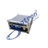 maleta de alumínio azul Pacaembu