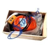 talhas elétrica de corrente 2000kg Sacomã