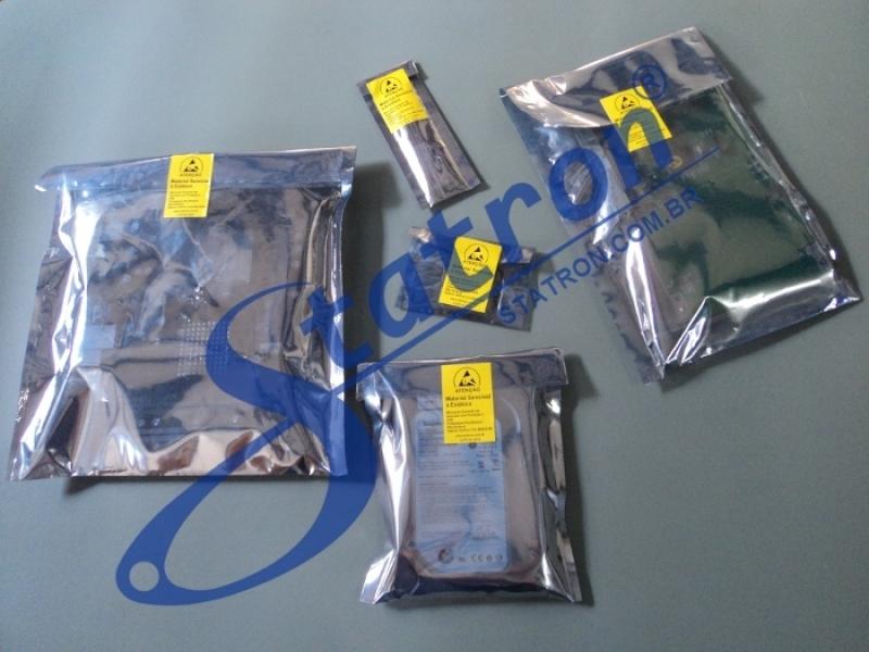 Valor da Embalagem Antiestática São Paulo - Embalagem Antiestática para Hd